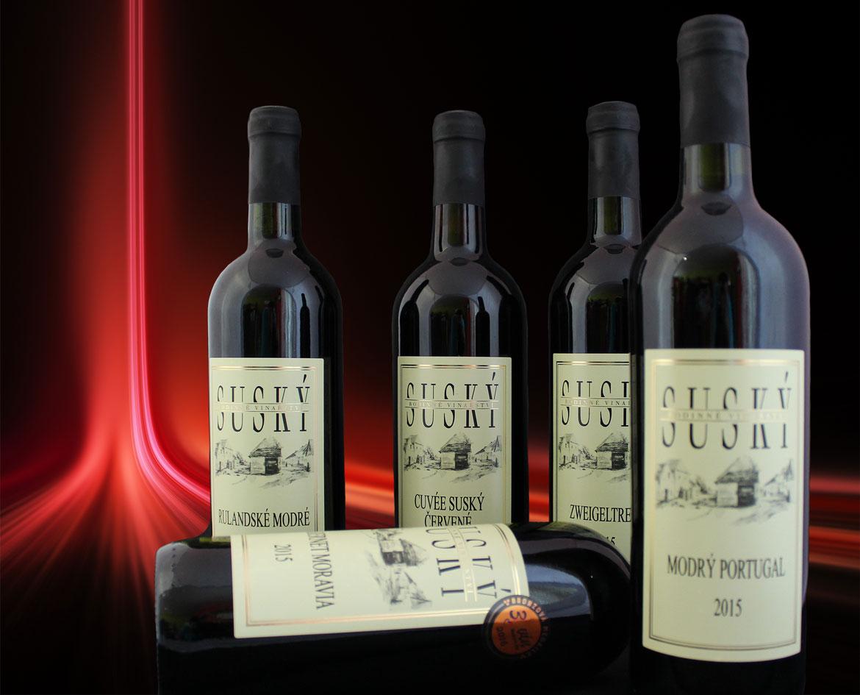 Kolekce vín Suský